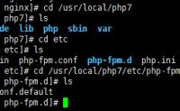 linux下LNMP环境-3.PHP篇(安装php7.1)