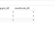 mysql多表联查以及DISTINCT关键字的使用